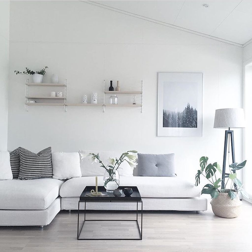Amazing Scandinavian Living Room Decor Ideas 03