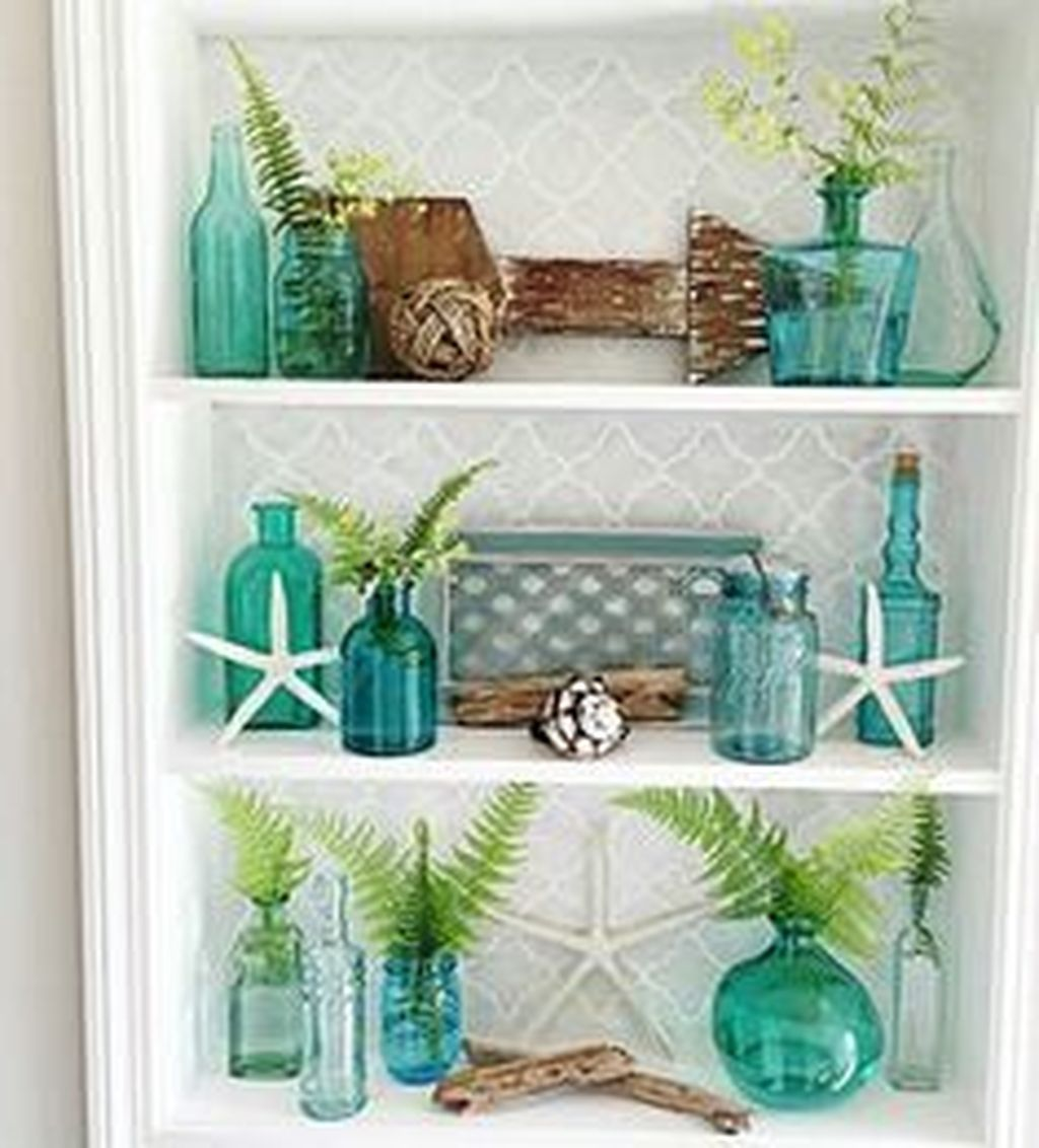 Awesome Coastal Style Bathroom Decorating Ideas 07