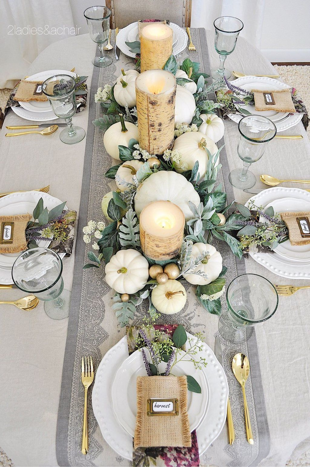 Awesome Fall Table Decorations Ideas You Should Apply This Year 14