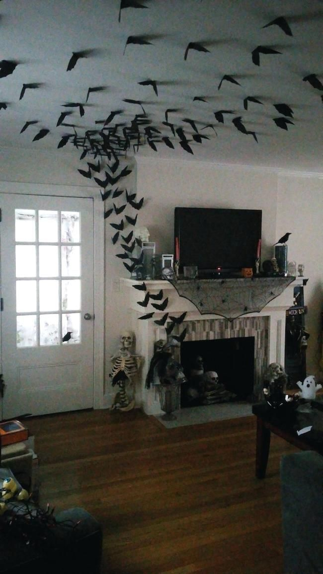 Awesome Spooky Halloweeen Home Decoration Ideas 27