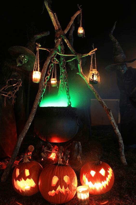 Awesome Spooky Halloweeen Home Decoration Ideas 33