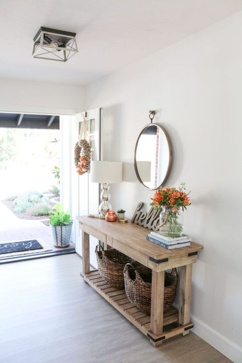 Beautiful Fall Entryway Decor Ideas 12