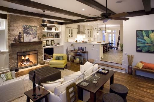 Beautiful Family Room Design Ideas 10