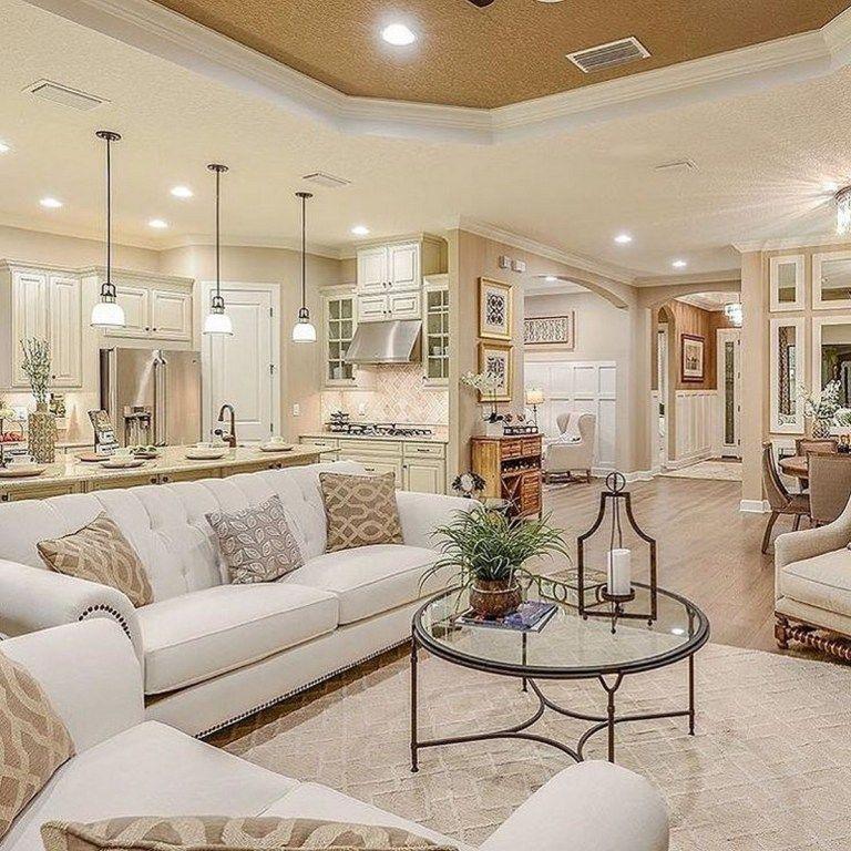 Beautiful Family Room Design Ideas 18