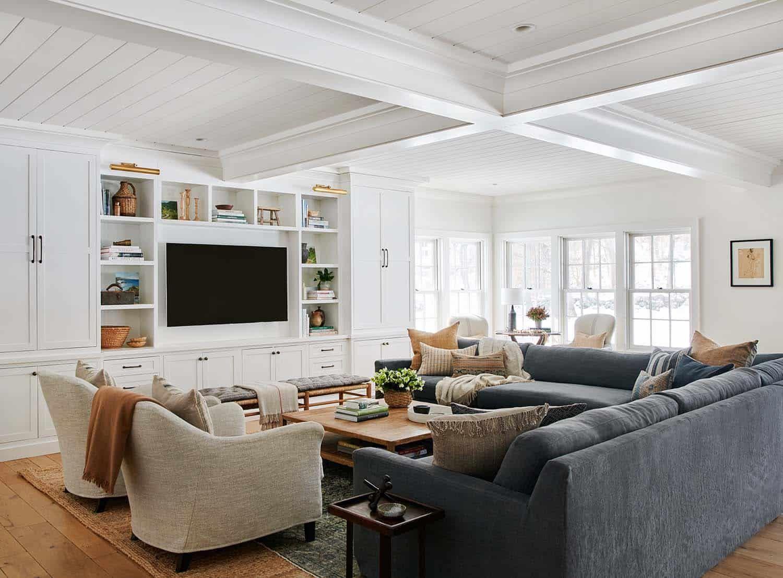 Beautiful Family Room Design Ideas 21