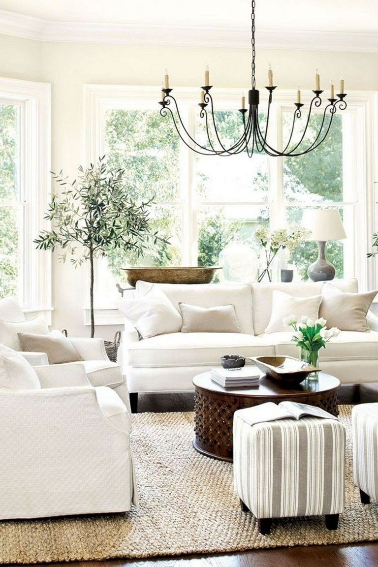 Beautiful Family Room Design Ideas 31