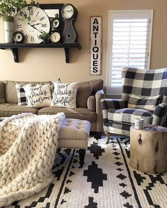 Beautiful Family Room Design Ideas 33