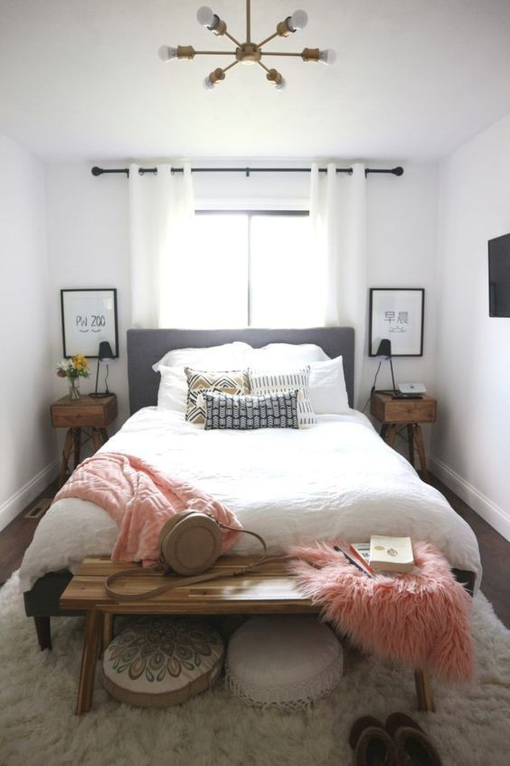 Beautiful Small Master Bedroom Design Ideas On A Budget 20