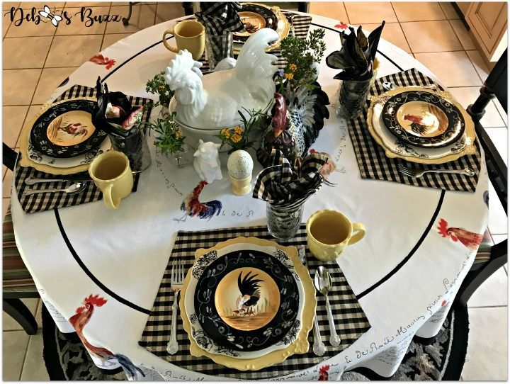 Fabulous Rooster Kitchen Decor Ideas 17