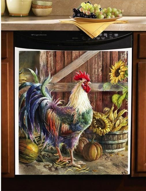 Fabulous Rooster Kitchen Decor Ideas 28