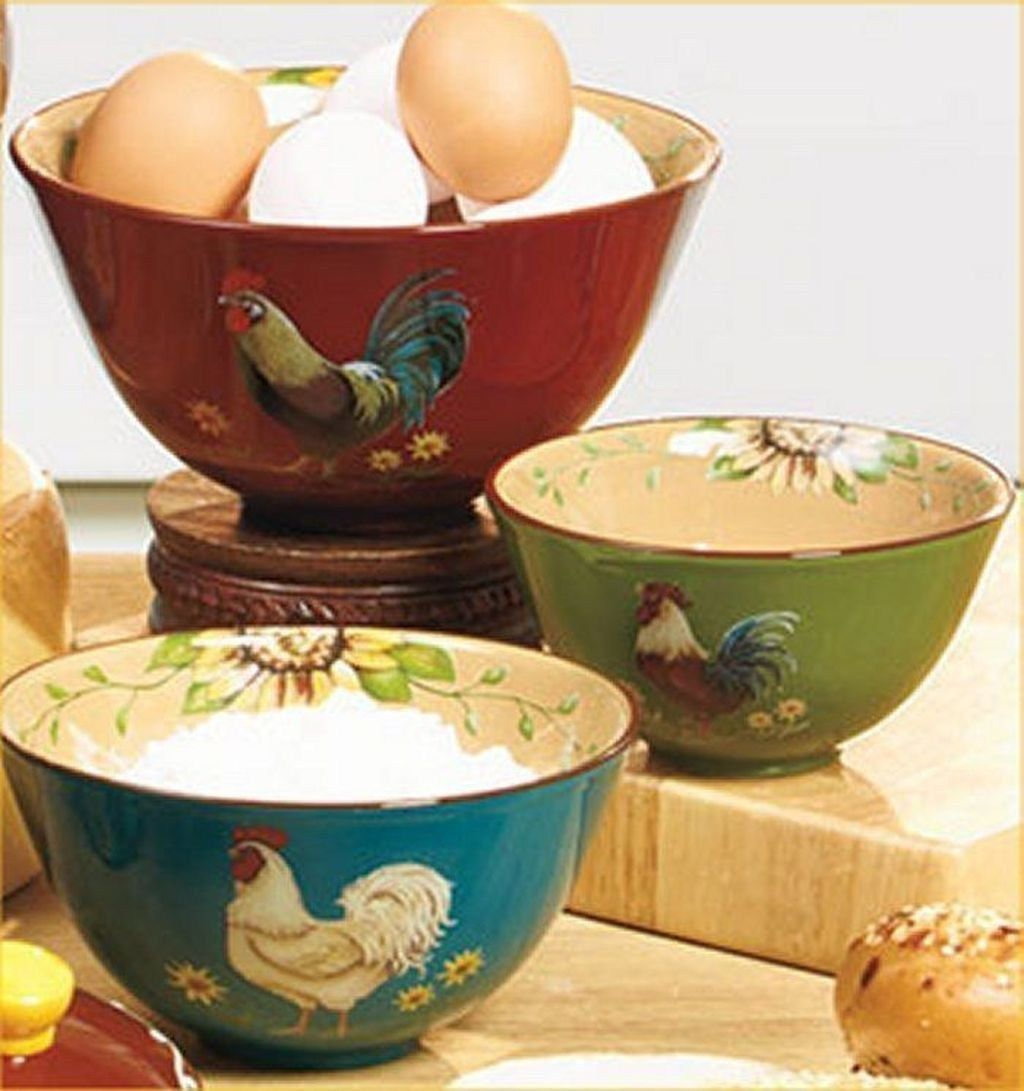 Fabulous Rooster Kitchen Decor Ideas 29