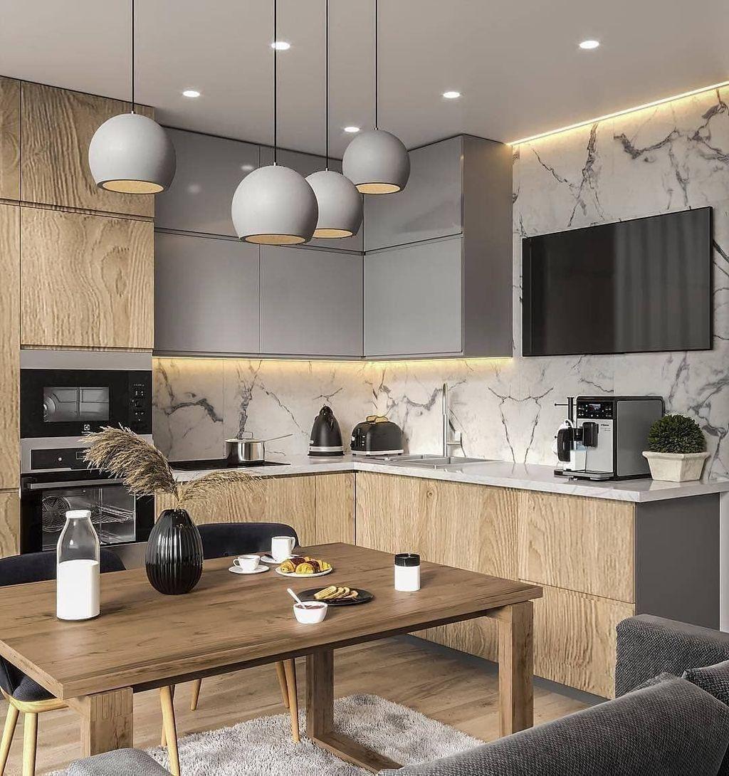 Gorgeous Modern Kitchen Design Ideas 19