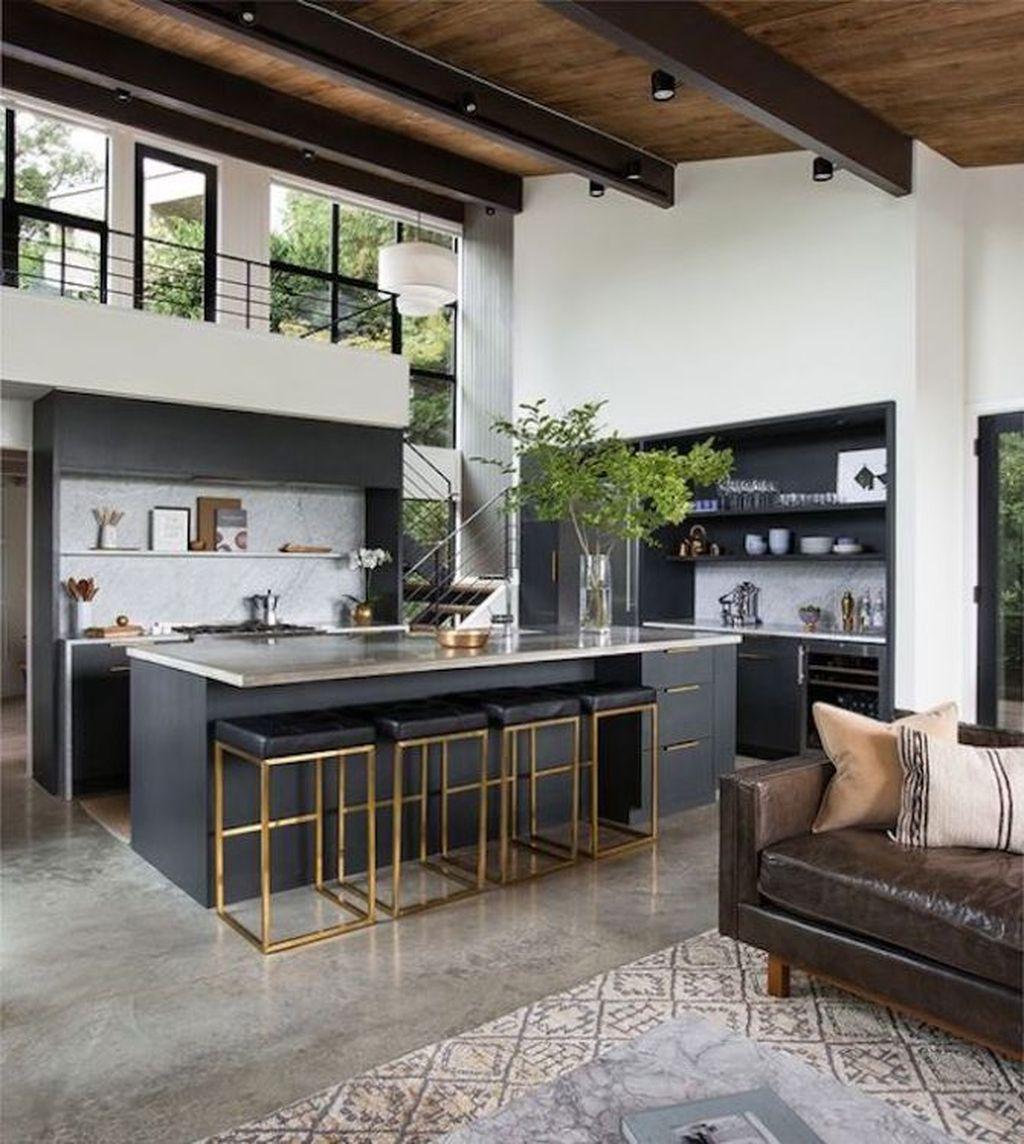 Gorgeous Modern Kitchen Design Ideas 35