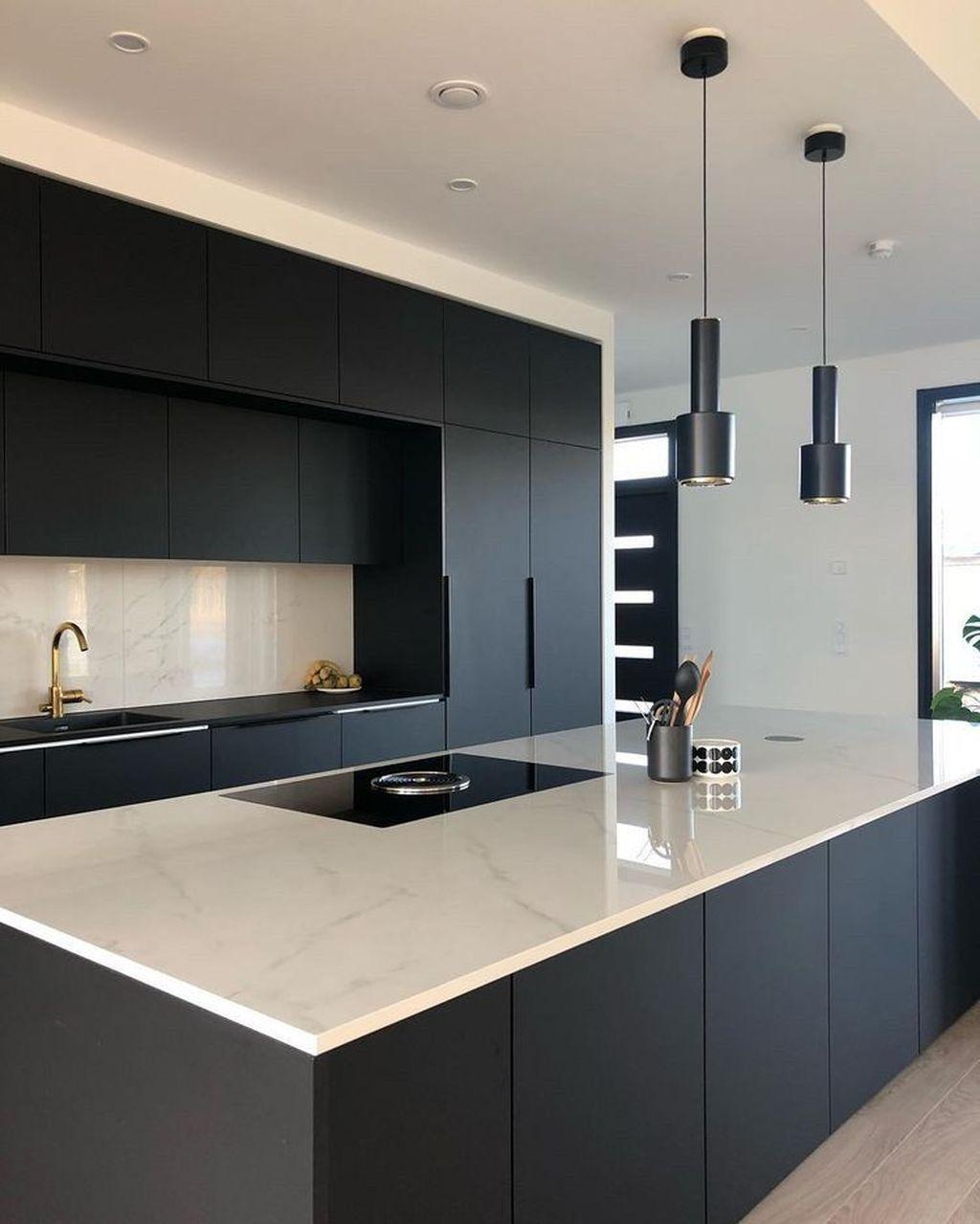Gorgeous Modern Kitchen Design Ideas 38