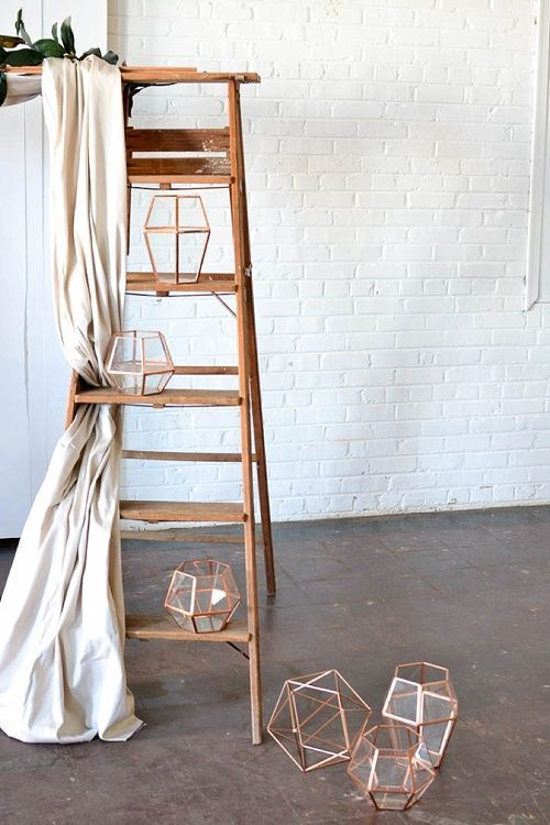 Gorgeous Vintage Ladder Decor Ideas 13