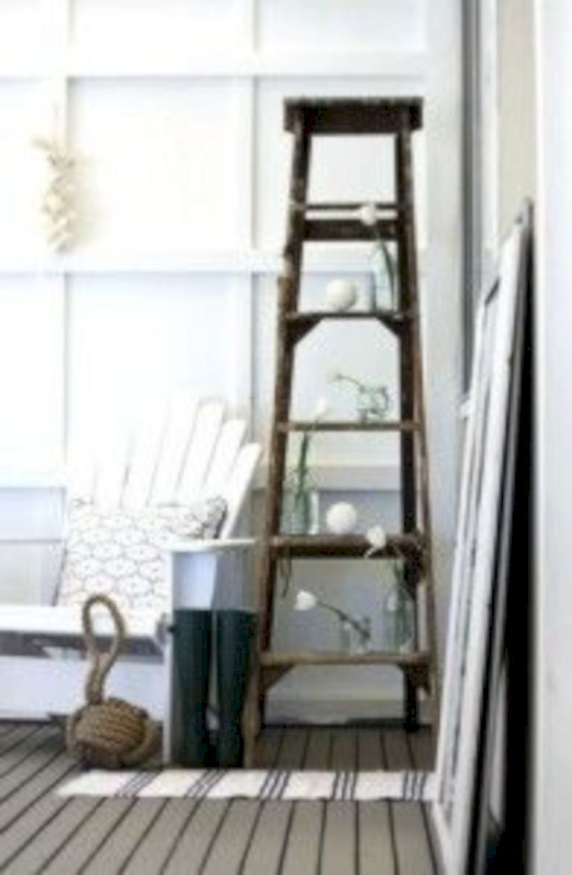 Gorgeous Vintage Ladder Decor Ideas 19