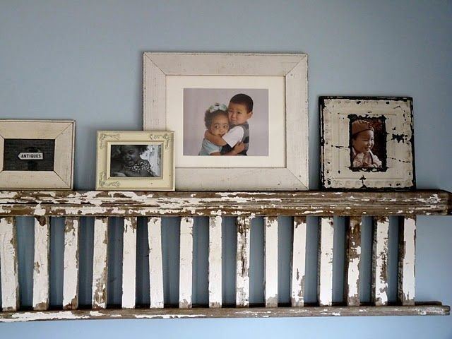 Gorgeous Vintage Ladder Decor Ideas 26