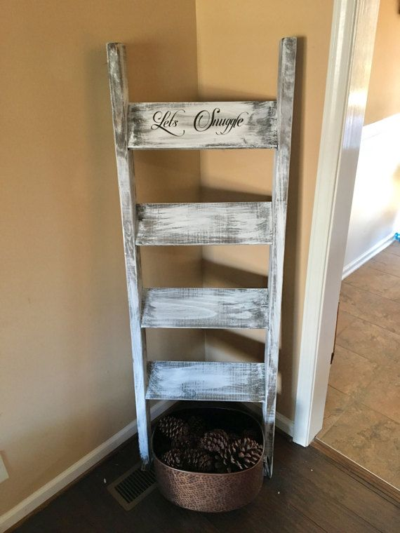 Gorgeous Vintage Ladder Decor Ideas 32