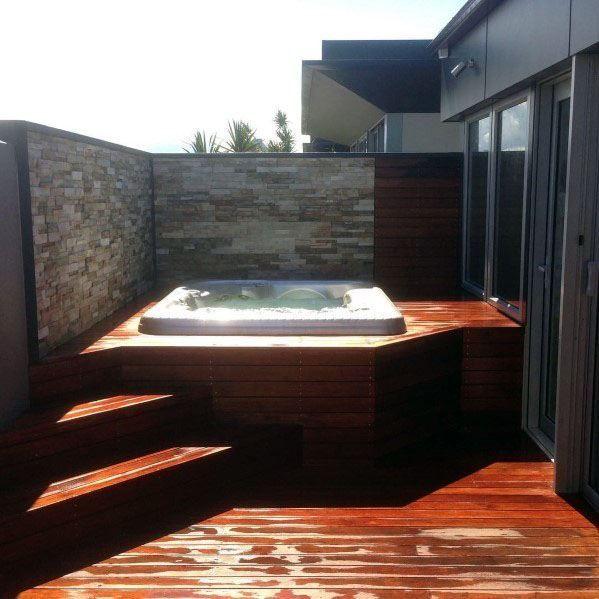 Inspiring Hot Tub Patio Design Ideas For Your Outdoor Decor 01