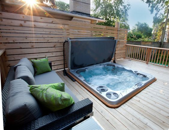 Inspiring Hot Tub Patio Design Ideas For Your Outdoor Decor 02