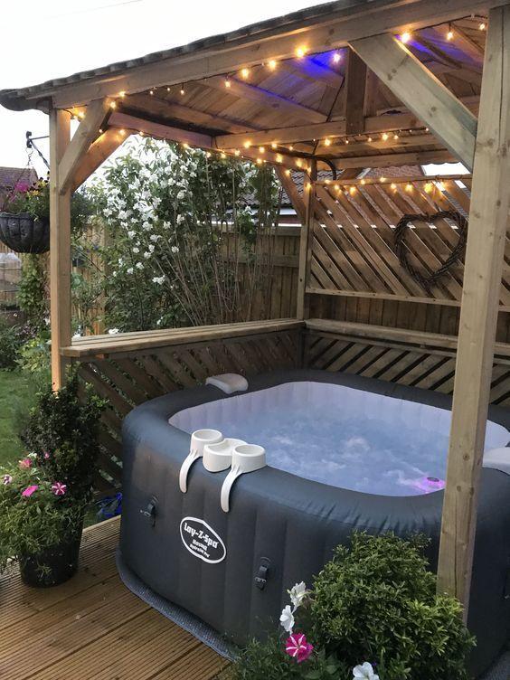 Inspiring Hot Tub Patio Design Ideas For Your Outdoor Decor 04