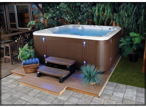 Inspiring Hot Tub Patio Design Ideas For Your Outdoor Decor 06