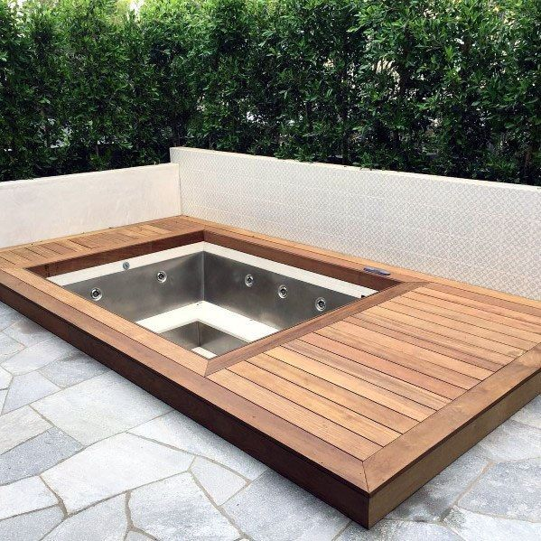 Inspiring Hot Tub Patio Design Ideas For Your Outdoor Decor 11