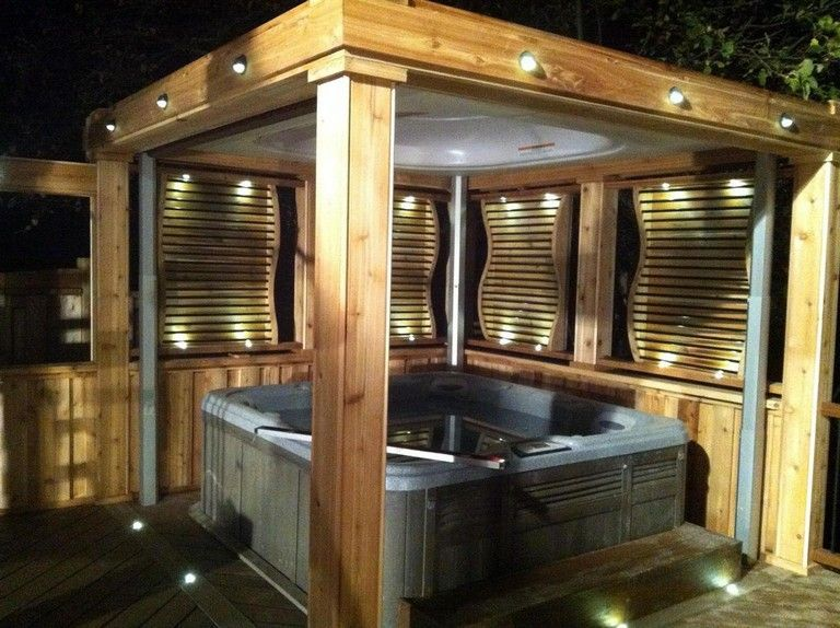 Inspiring Hot Tub Patio Design Ideas For Your Outdoor Decor 14