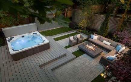 Inspiring Hot Tub Patio Design Ideas For Your Outdoor Decor 17