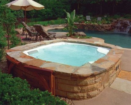 Inspiring Hot Tub Patio Design Ideas For Your Outdoor Decor 20