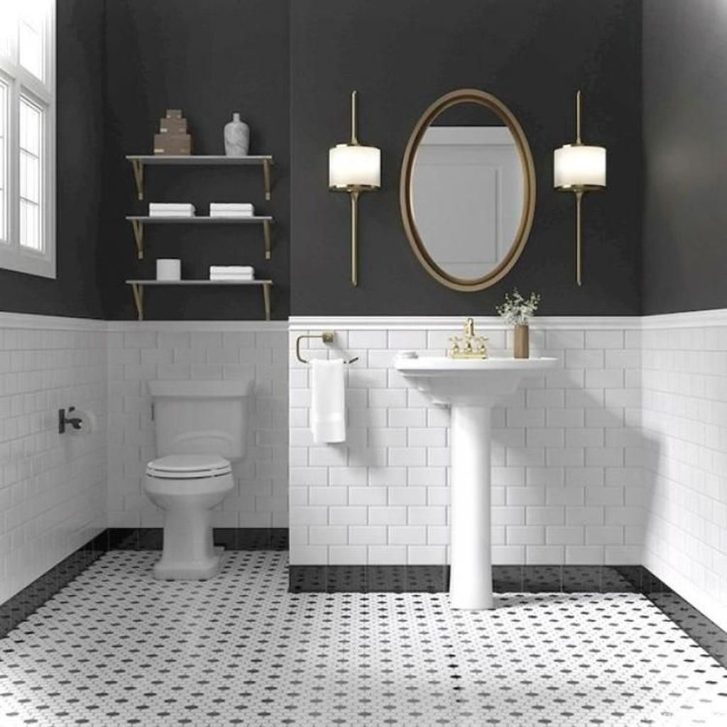 Lovely Classic Bathroom Design Ideas 07