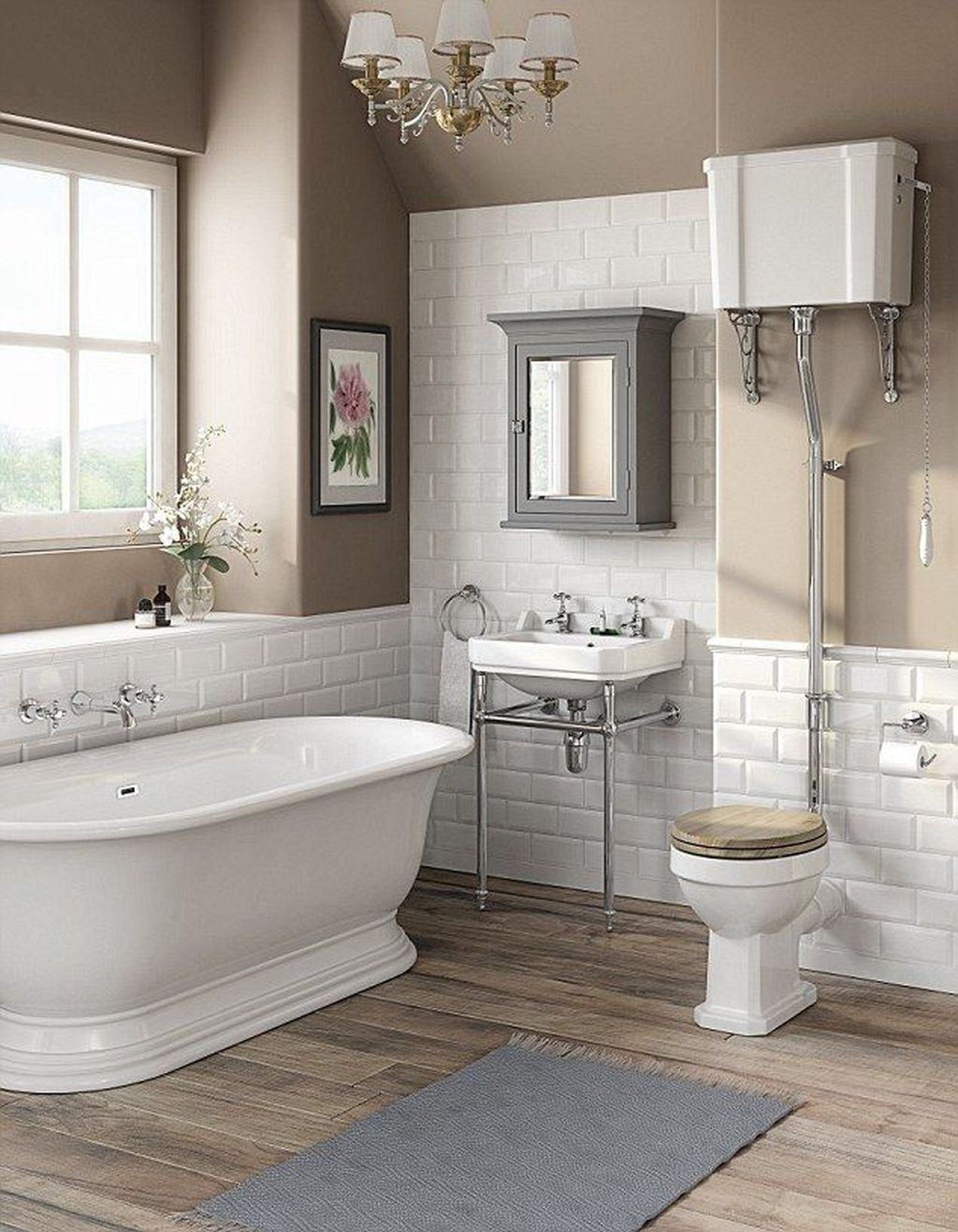 Lovely Classic Bathroom Design Ideas 08