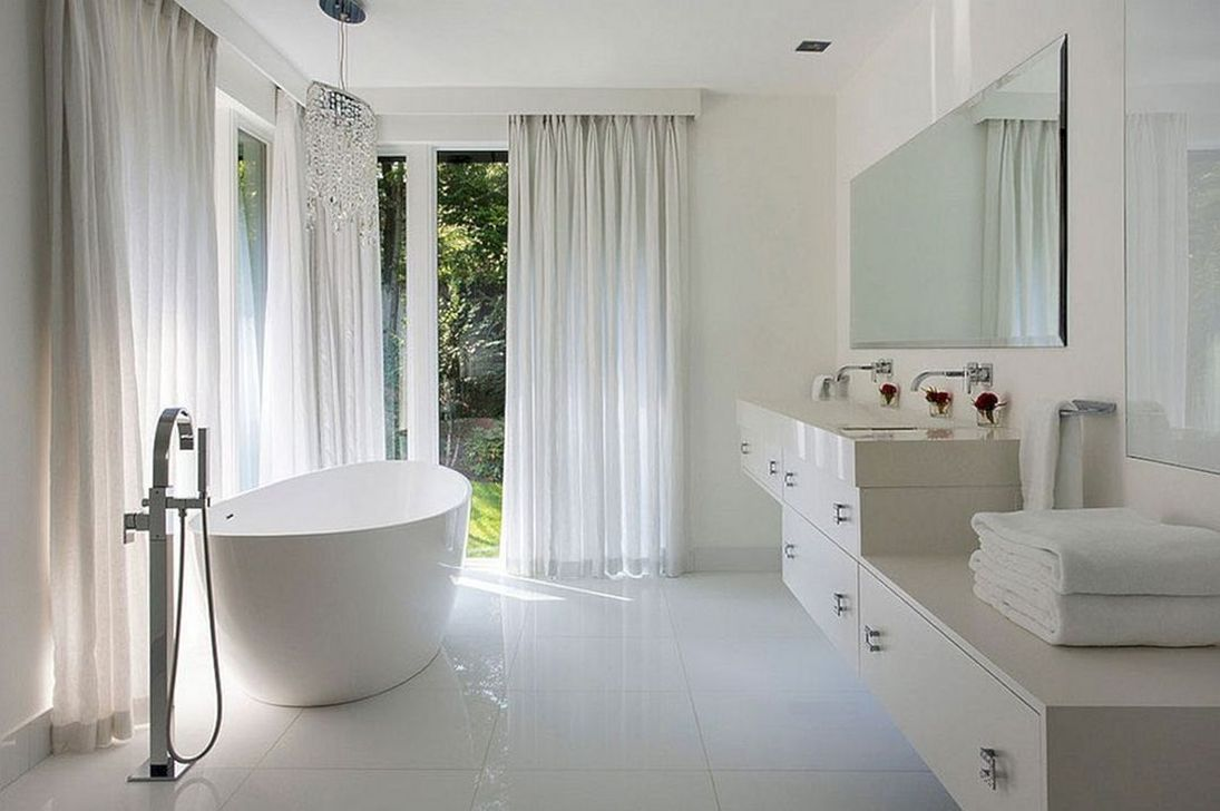 Lovely Classic Bathroom Design Ideas 24