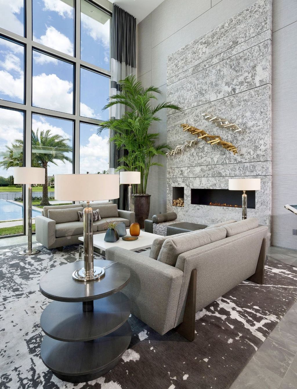 Luxury Living Room Design Ideas With Modern Accent 05
