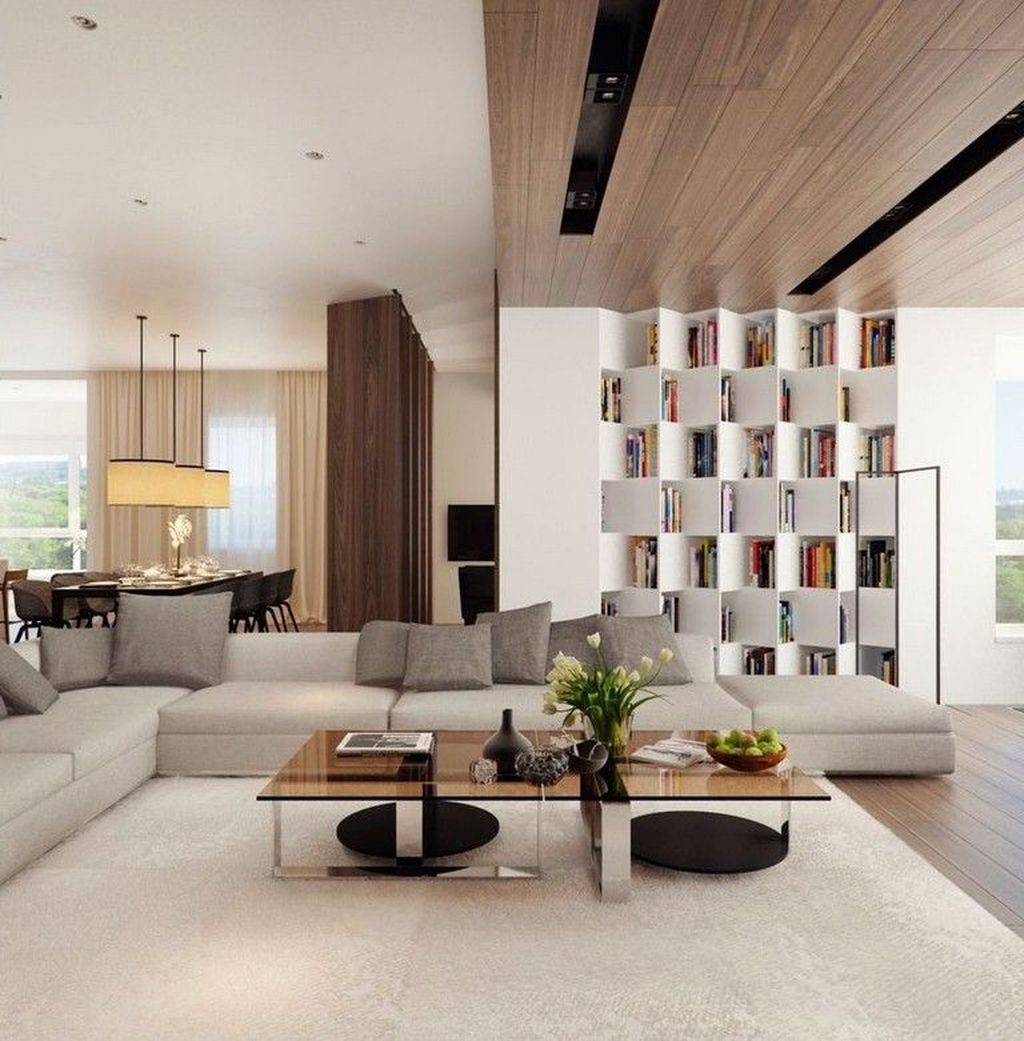 Luxury Living Room Design Ideas With Modern Accent 08