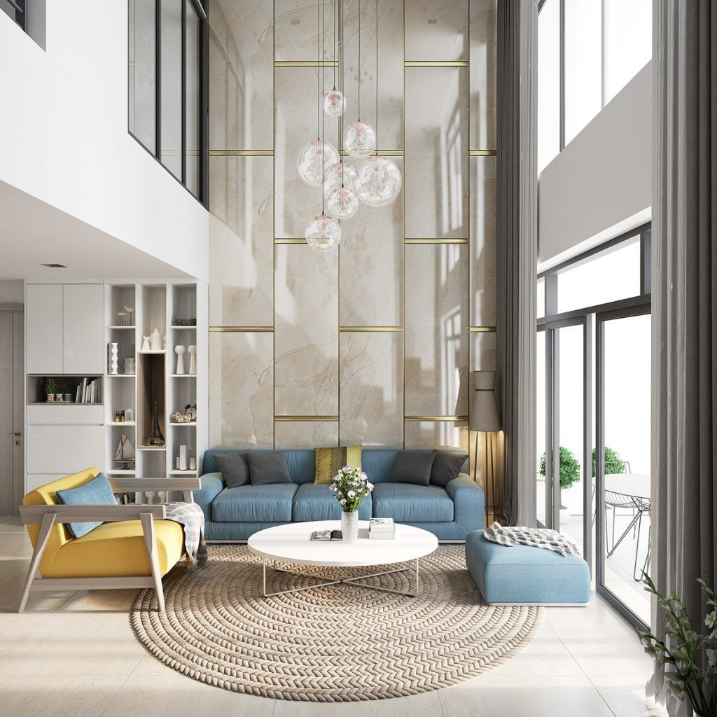 Luxury Living Room Design Ideas With Modern Accent 26