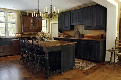 Nice Colonial Kitchen Decoration Ideas 01