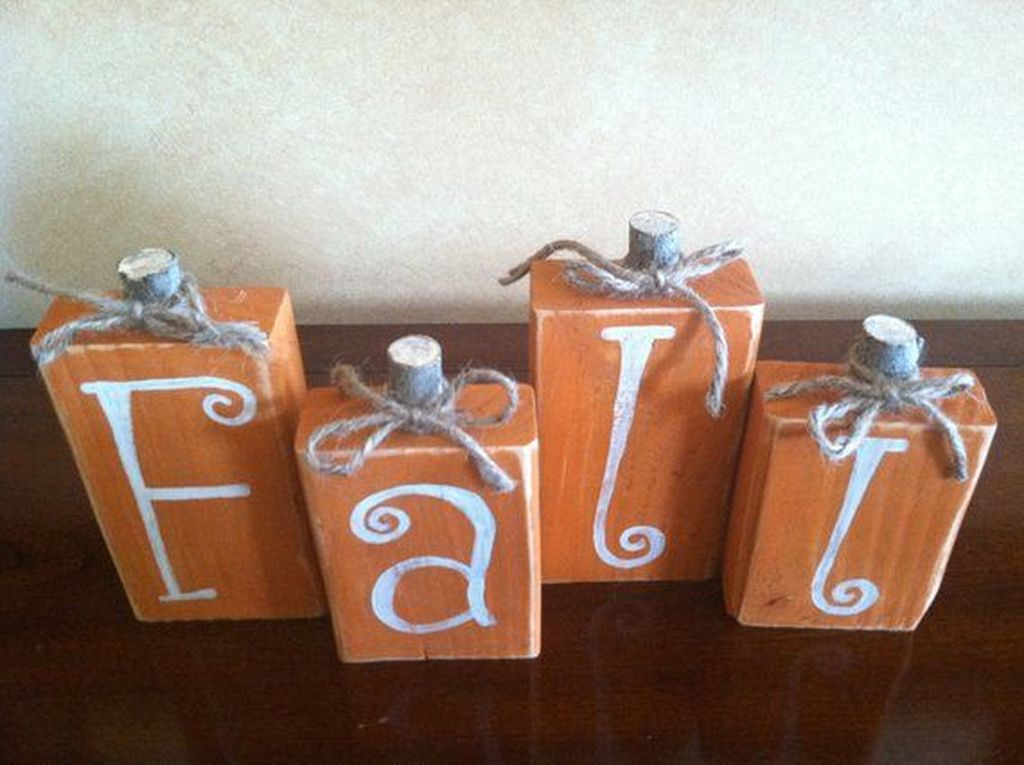 Stunning DIY Fall Home Decor Ideas 20