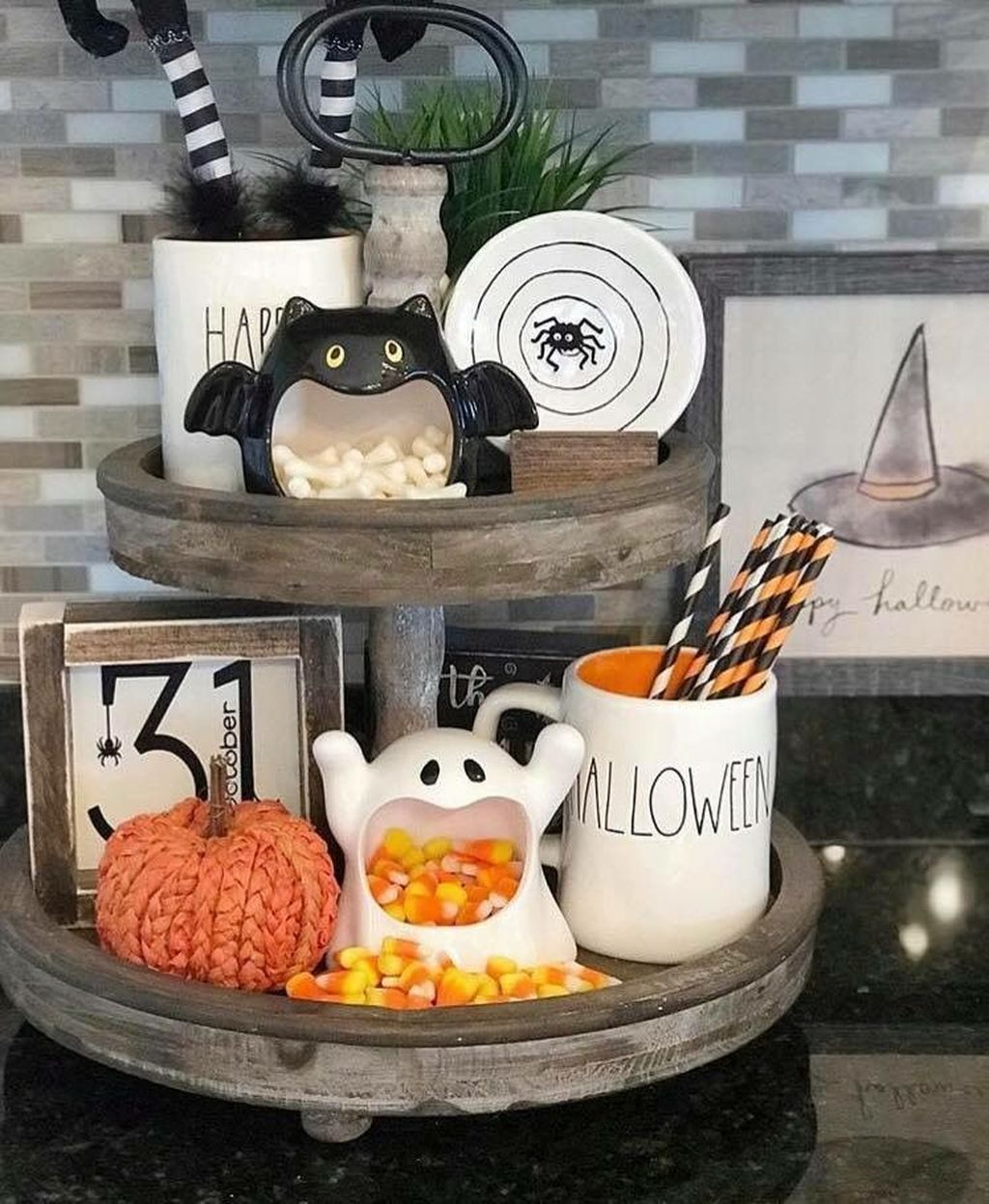 Stunning Halloween Kitchen Decor Ideas 20