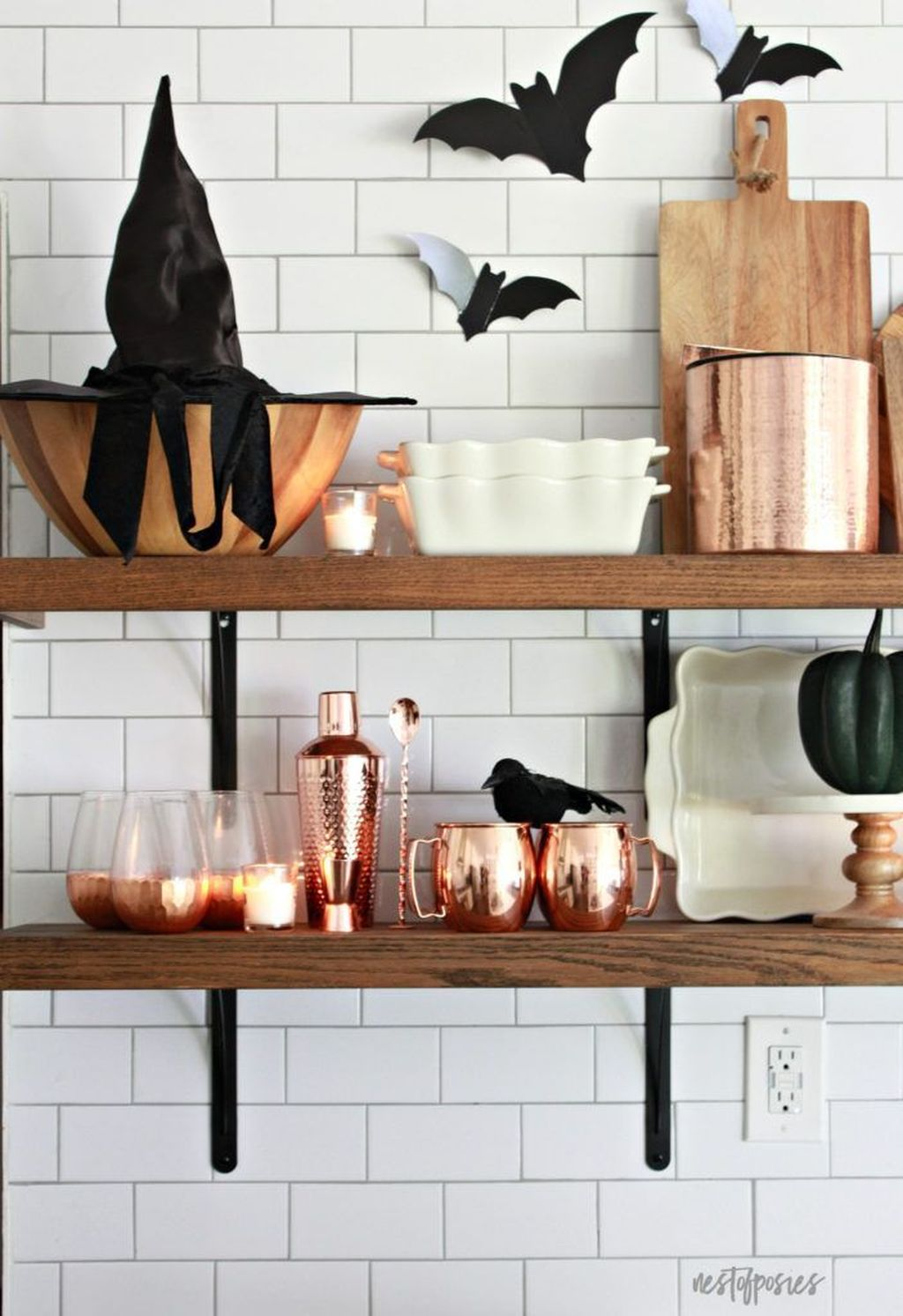 Stunning Halloween Kitchen Decor Ideas 25