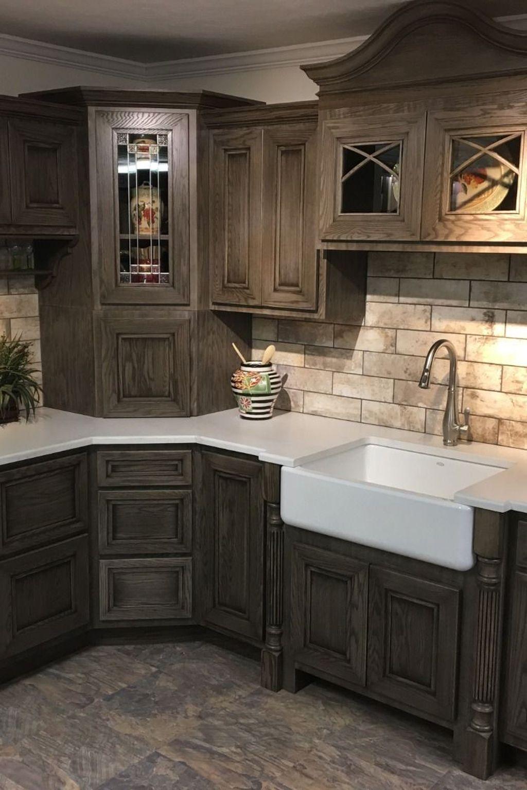 Stunning Kitchen Cabinets Ideas 24
