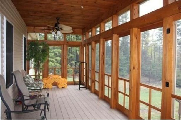 The Best Enclosed Porch Design And Decor Ideas 01