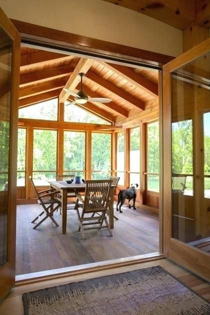 The Best Enclosed Porch Design And Decor Ideas 10