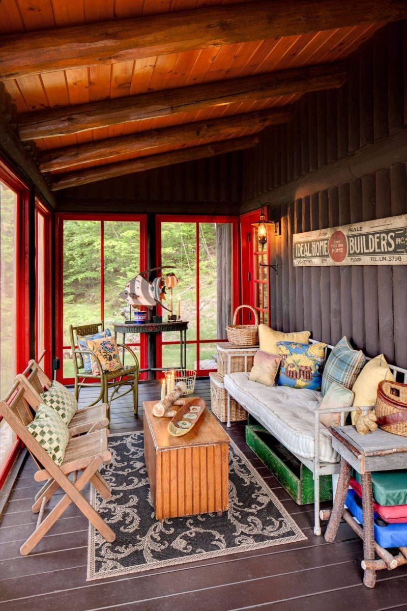 The Best Enclosed Porch Design And Decor Ideas 31
