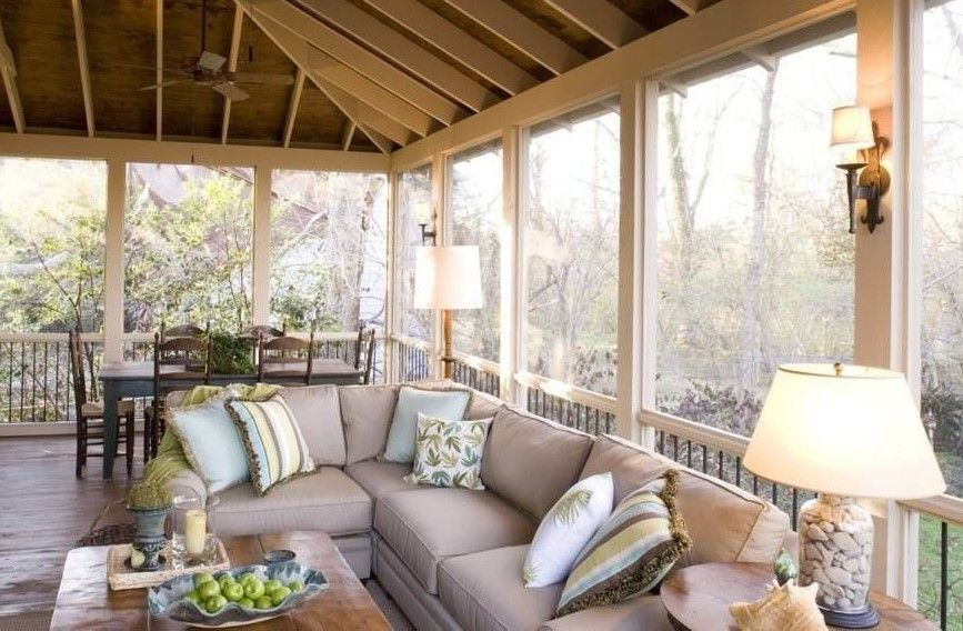 The Best Enclosed Porch Design And Decor Ideas 34