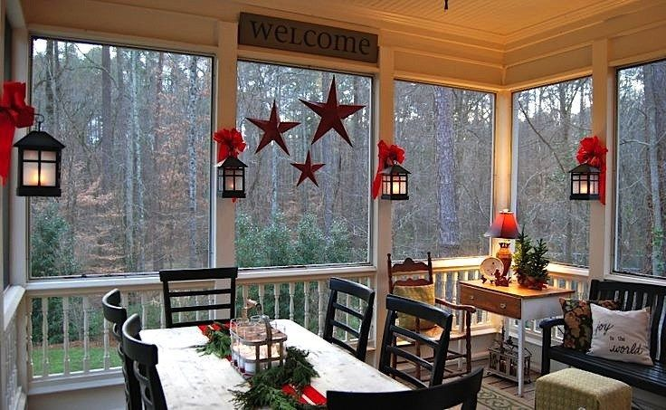 The Best Enclosed Porch Design And Decor Ideas 36