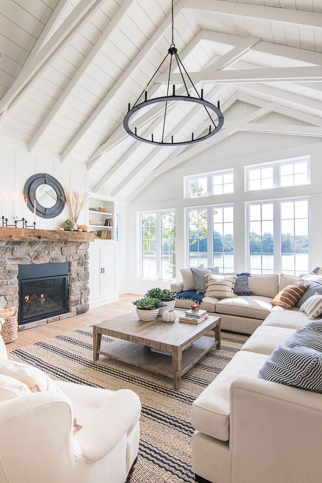 The Best Fall Living Room Decor Ideas Because Autumn Is Coming 04