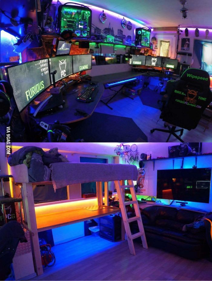 The Best Gaming Setup For Amazing Rooms 09
