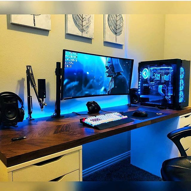 The Best Gaming Setup For Amazing Rooms 33