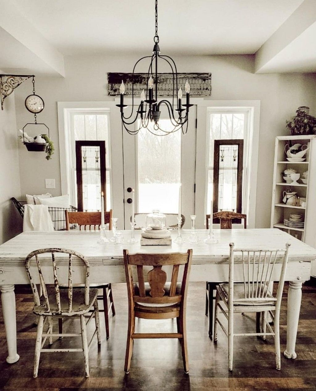 The Best Rustic Dining Room Decoration Ideas 06